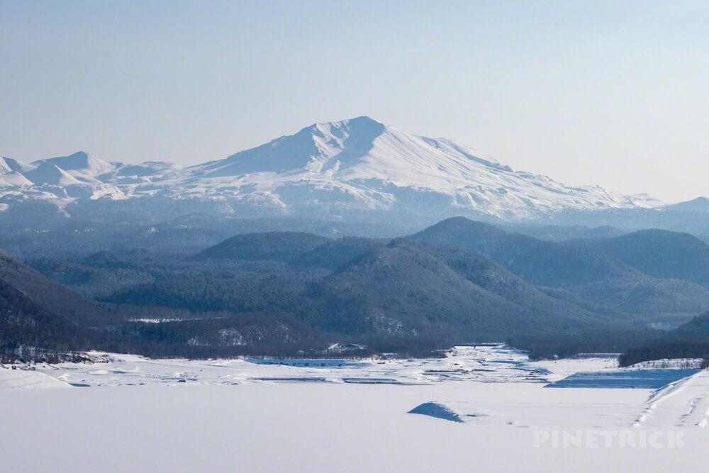大雪山 旭岳 忠別湖 北海道 登山 冬山