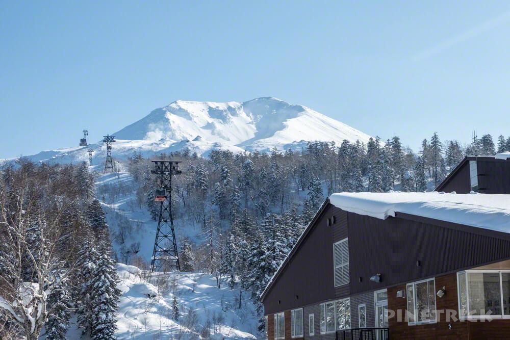大雪山 旭岳 ロープウェイ 駐車場 登山 冬山 北海道