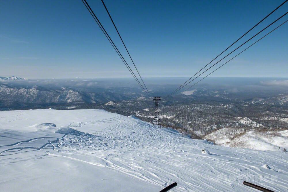 旭岳 大雪山 ロープウェイ 北海道 冬山 登山 姿見駅