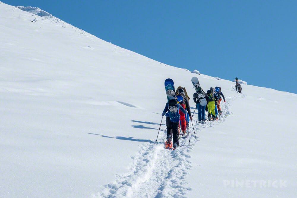 大雪山 旭岳 北海道 登山 冬山 スキー ボーダー バックカントリー