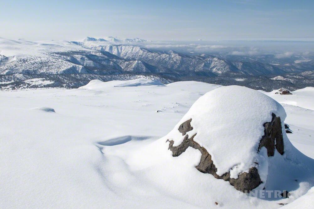 大雪山 旭岳 北海道 登山 冬山 十勝岳連峰