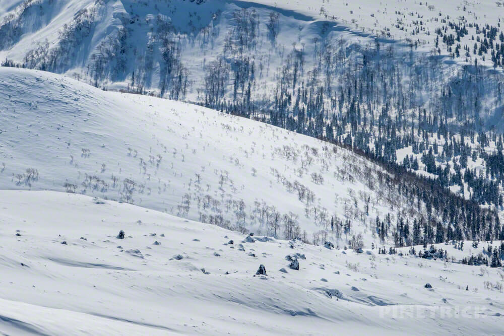 大雪山 旭岳 北海道 登山 冬山 スノーシュー スノーハイク