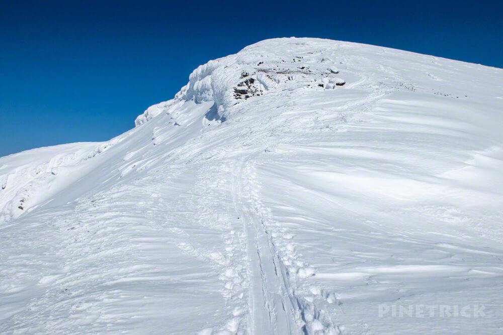 大雪山 旭岳 北海道 登山 冬山 スノーシュー
