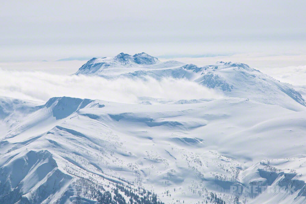 大雪山 旭岳 北海道 登山 冬山 トムラウシ