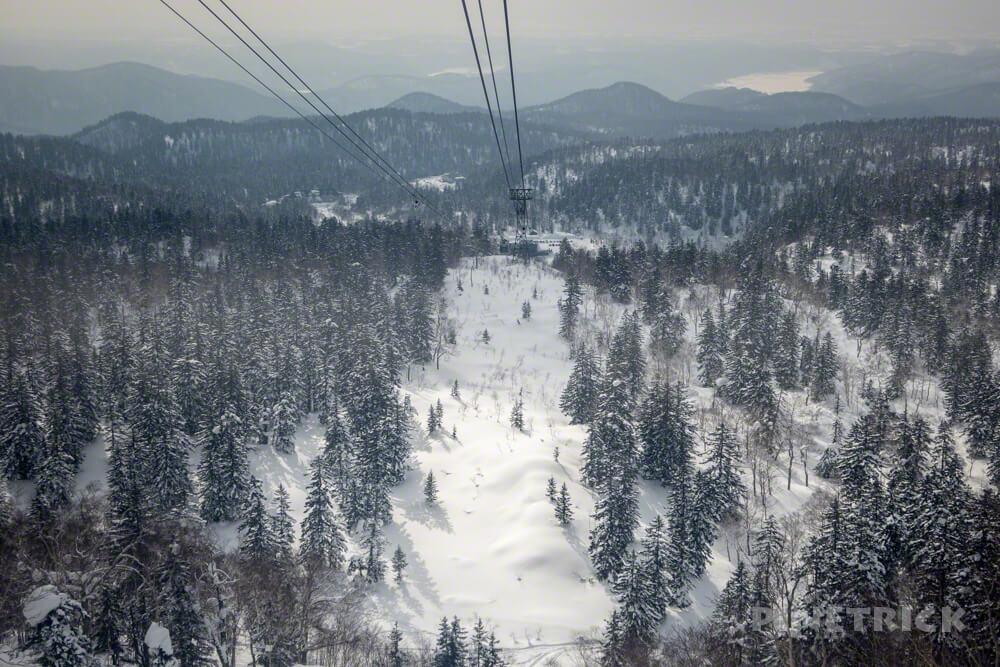 大雪山 旭岳 北海道 登山 冬山 ロープウェイ