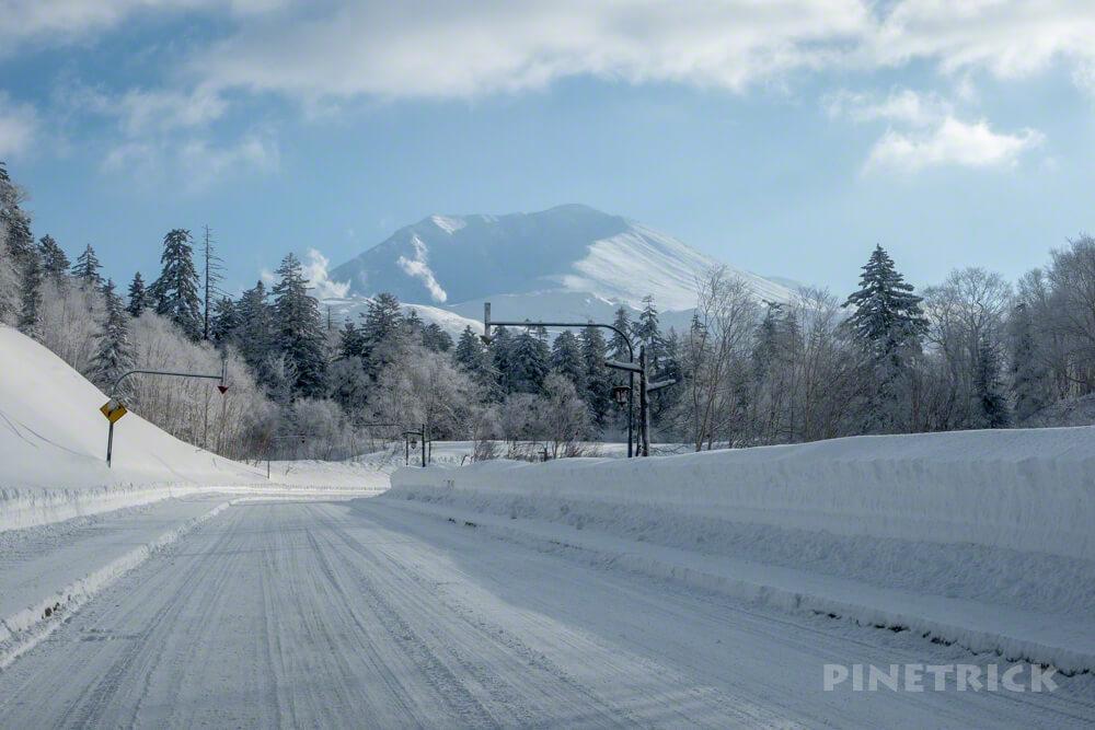 北海道 冬 旭岳 ロープウェイ