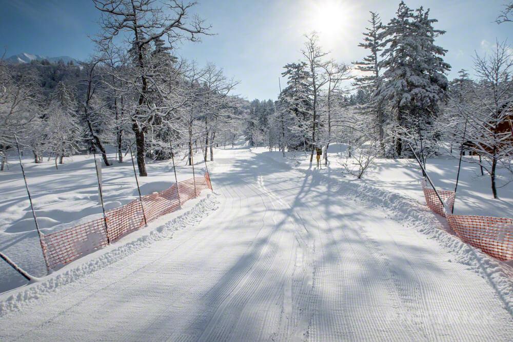 旭岳スキーコース 北海道 冬山 登山 スノーシュー