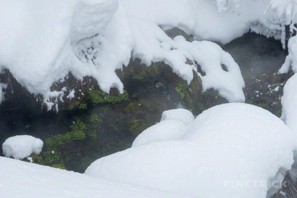 旭岳スキーコース 湯気 Dコース 冬山 北海道 登山
