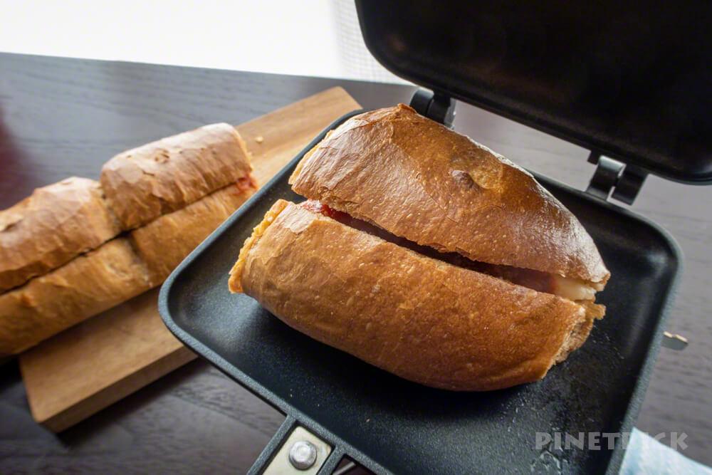 ホットサンドメーカー ポテトチリソース ボストンベイク 朝食