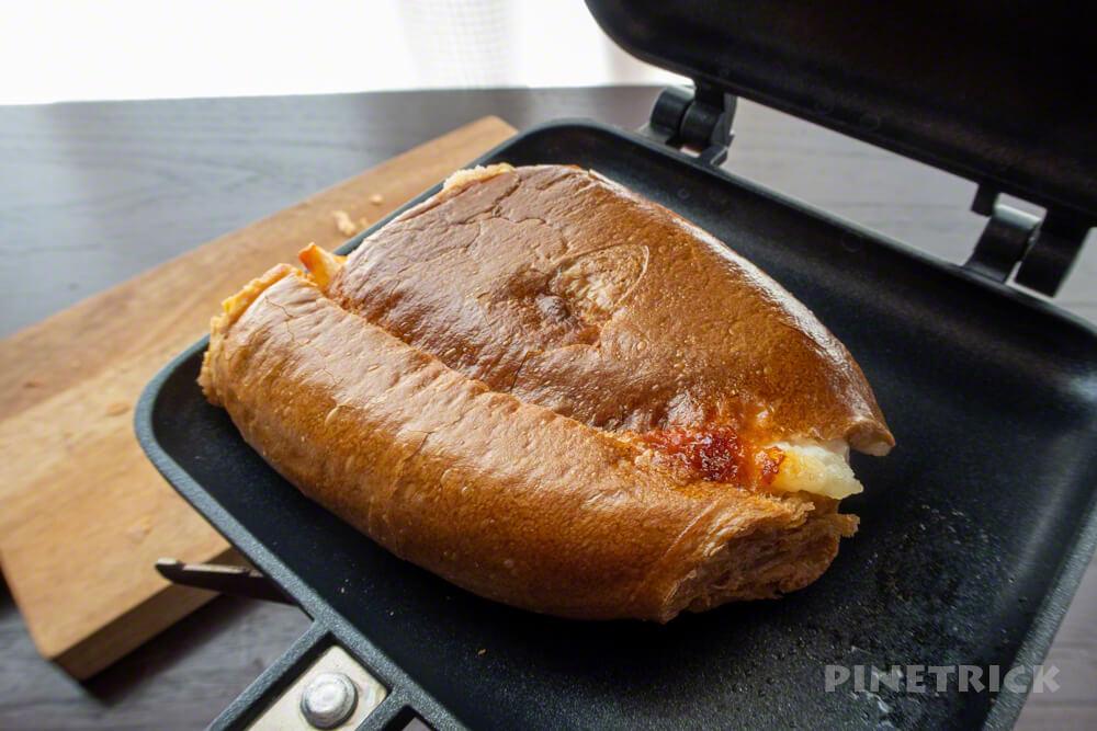 ホットサンドメーカー ポテトチリソース ボストンベイク 朝食 カリカリ