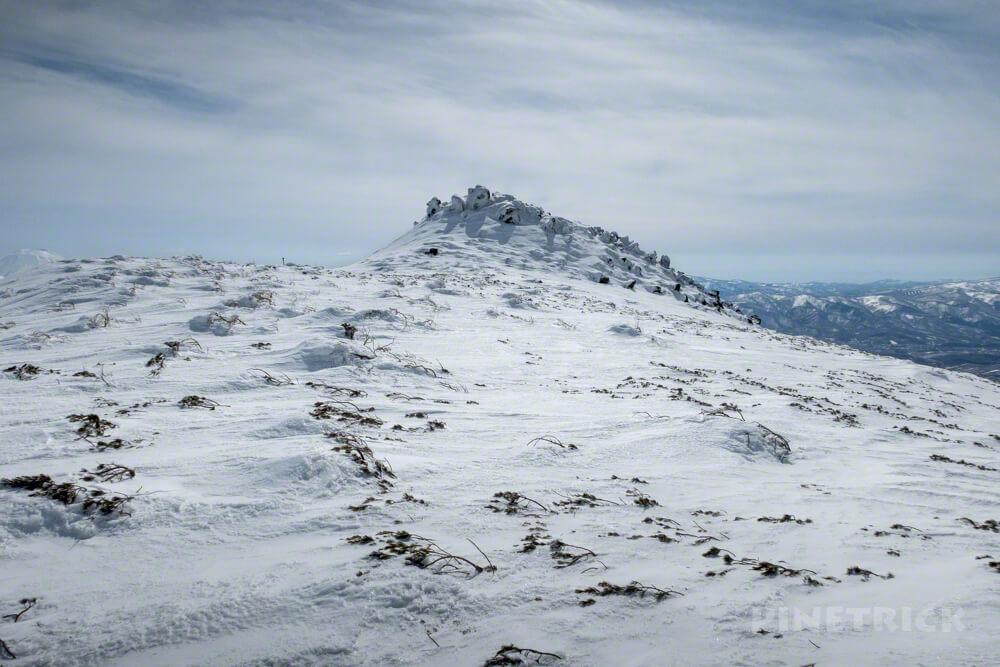 岩内岳 目国内岳 スノーシュー 雪原 ニセコ 冬山 北海道 登山 絶景 山頂 岩
