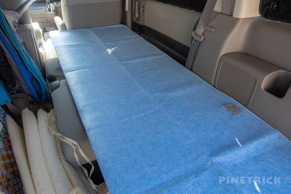 車中泊 除湿シート 快適 DIY 一枚板 コンパネ フラット化 シリカゲル 吸湿シート