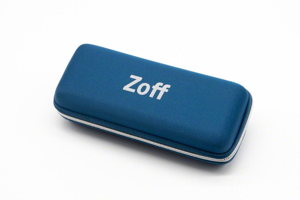 zoff メガネケース サービス ブルーライトカット レンズ 眼鏡 web購入 無料