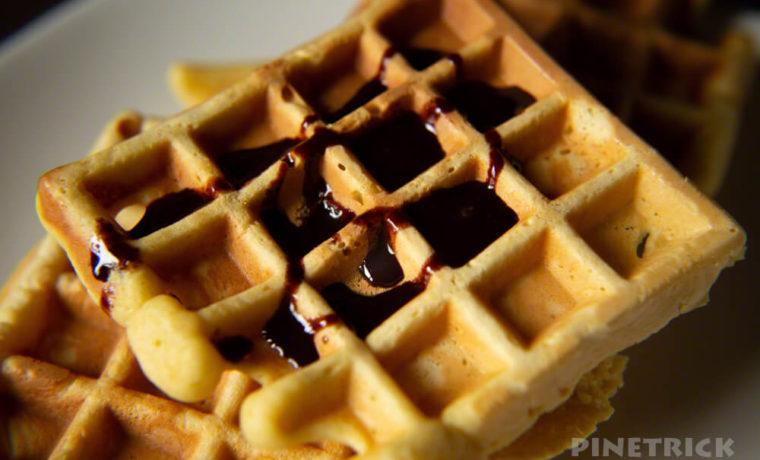 お菓子作り ワッフル ホットサンドメーカー ホットケーキミックス #stayhome チョコレートソース ハーシーズ もちもち 無着色 無香料