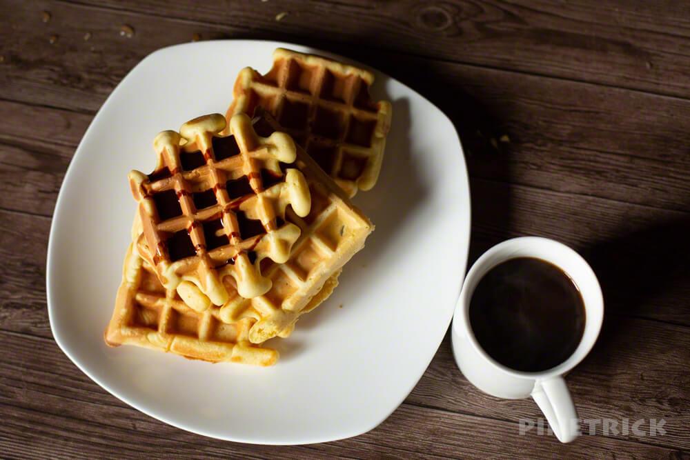 ワッフル コーヒー ホットケーキミックス ホットサンドメーカー 森彦 ドリップ おいしい 簡単 #stayhome  お菓子作り