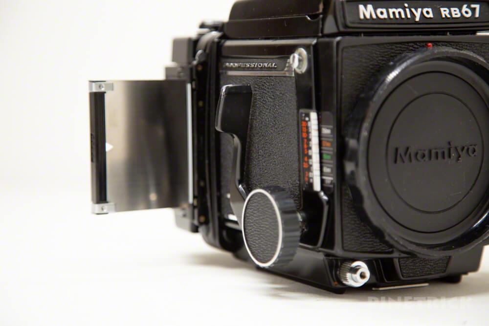 MAMIYA RB67 中判カメラ ProS ProSD ウエストレベルファインダー シャッター 引き蓋