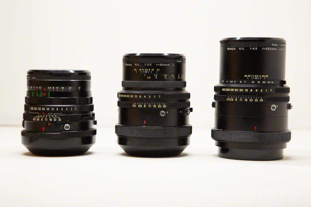 MAMIYA RB67 中判カメラ ProS ProSD 交換レンズ 単焦点 MAMIYA-SEKOR C 50mm F4.5 Mamiya K/L 90mm F3.5 L Mamiya K/l 250mm F4.5 L-A