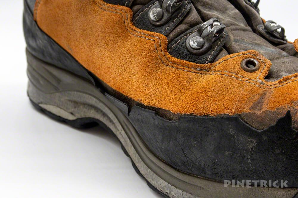 LOWA TICAM ローワ ティカム 登山靴 ソール交換 ラバー 目安 費用