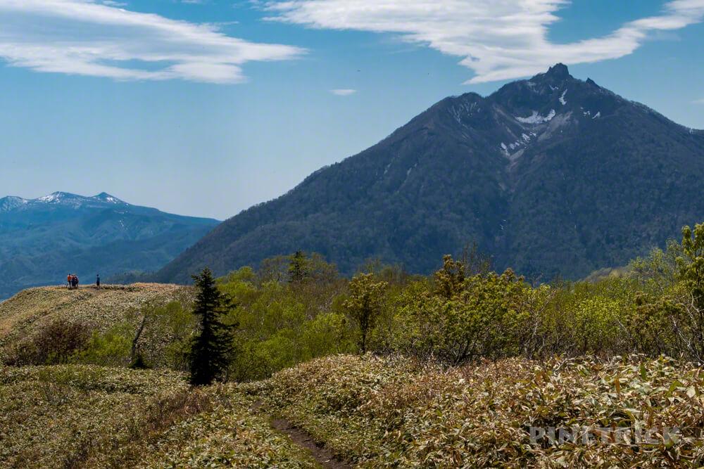 イチャンコッペ山 恵庭岳 登山 785 北海道
