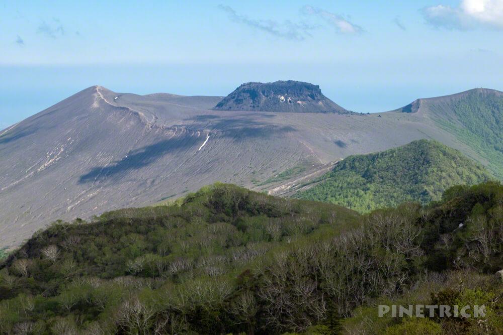 樽前山 北海道 山頂 溶岩ドーム 登山 トレッキング トレラン