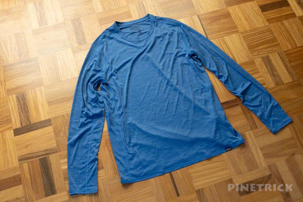 パタゴニア ロングスリーブ・キャプリーン・クール・ライトウェイト・シャツ ベースレイヤー 速乾 軽い 登山 汗かき