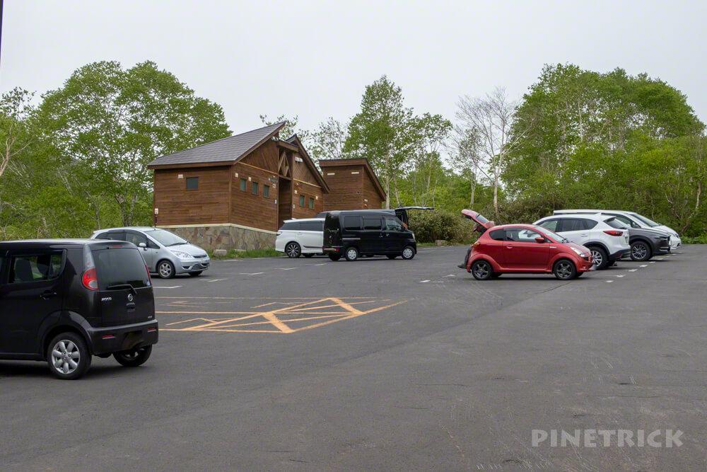 ニセコアンヌプリ 登山 山菜取り 駐車スペース 五色温泉インフォメーションセンター
