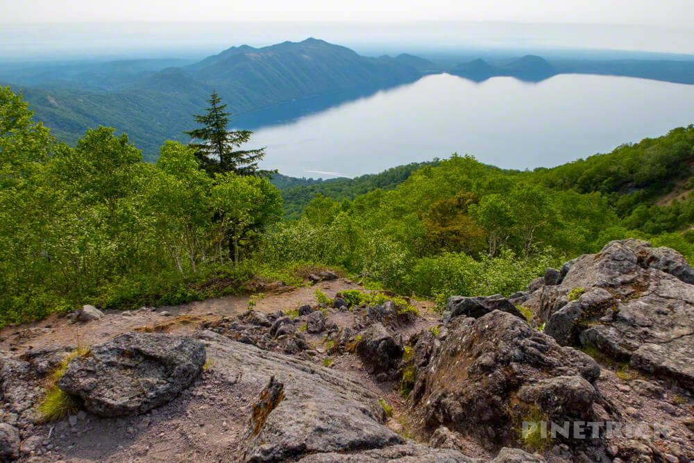 恵庭岳 第一展望台 登山 北海道 支笏湖 紋別岳 イチャンコッペ山