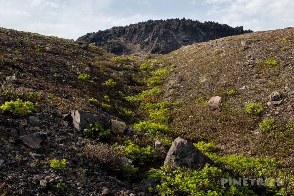 樽前山 溶岩ドーム 北海道 登山