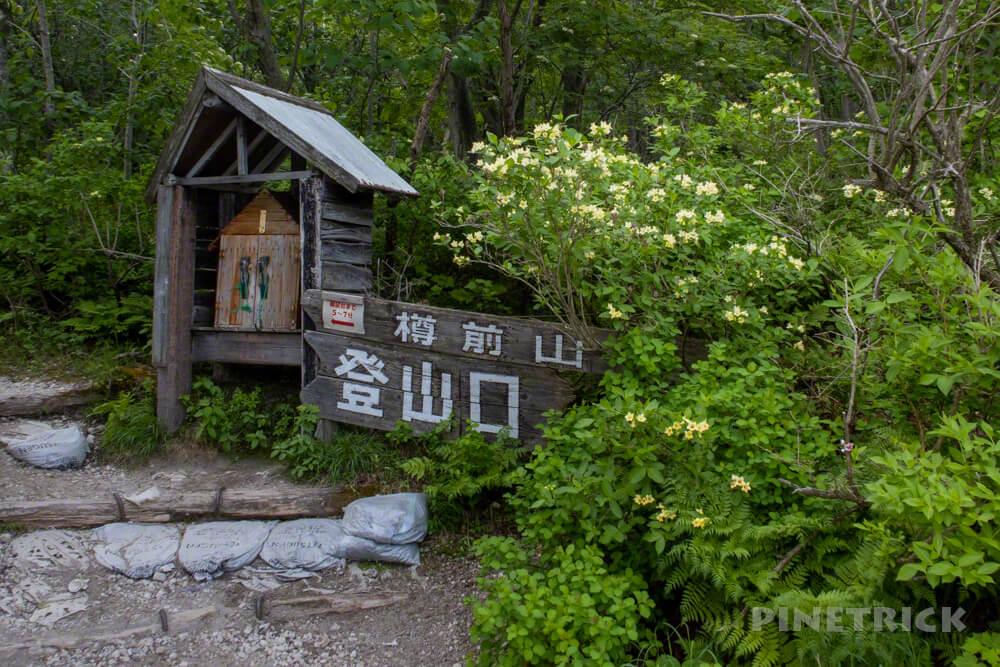 樽前山 登山口 ウコンウツギ 北海道 トレラン トレッキング