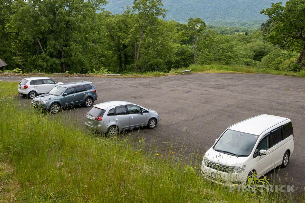 神居尻山 登山口 駐車場 Bコース 道民の森 北海道