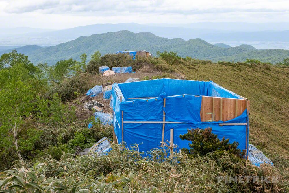 神居尻山 道民の森 北海道 登山 山頂 Aコース 山小屋