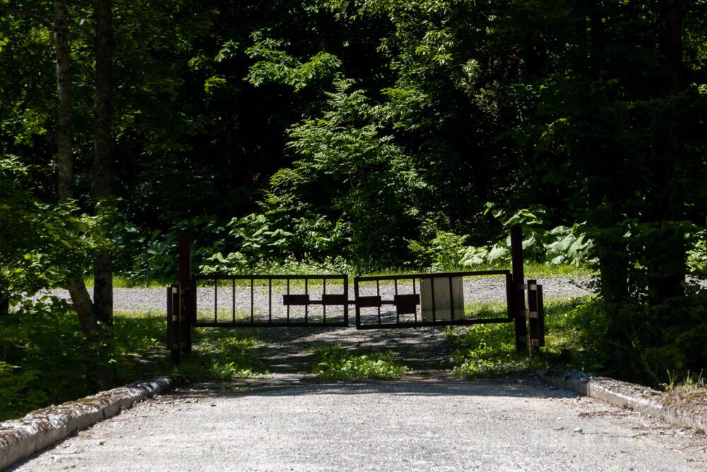北戸蔦別岳 チロロ林道 千呂露川・二岐沢コース 登山口 北海道 駐車場 入林box ゲート