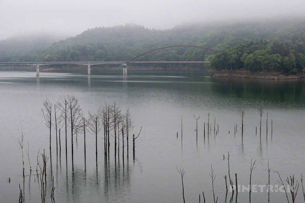夕張岳 登山 シューパロ湖 白眼橋 登山 北海道