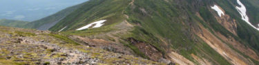 十勝岳連峰 三峰山 北海道 登山 縦走