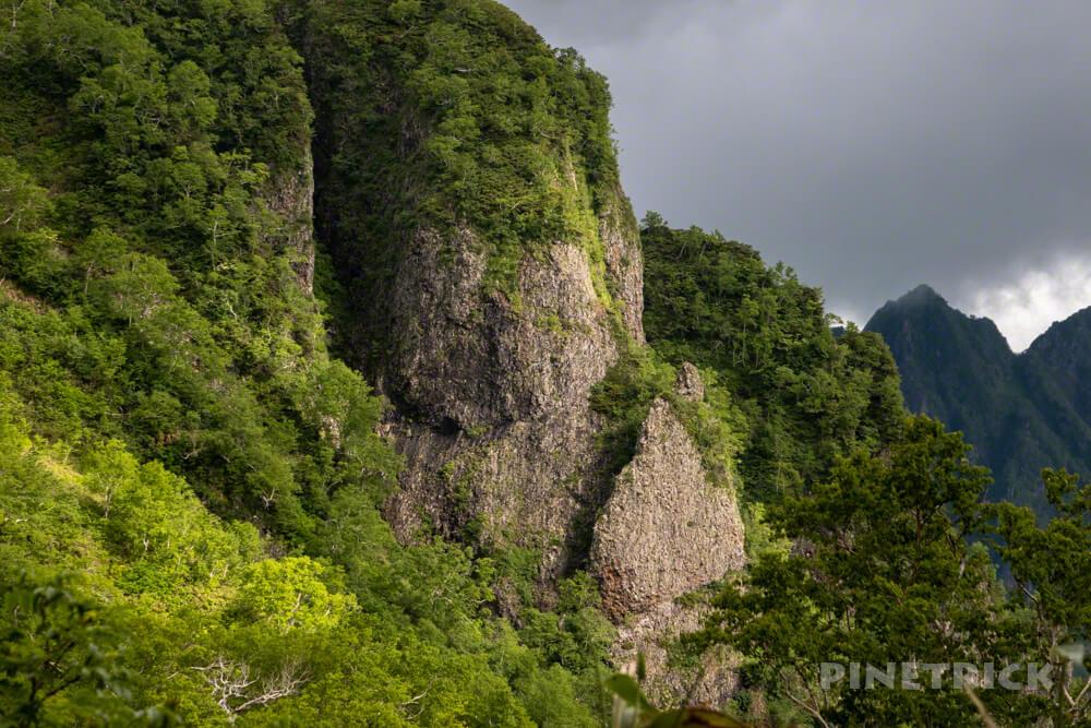 芦別岳 屏風岩 新道コース 北海道 登山