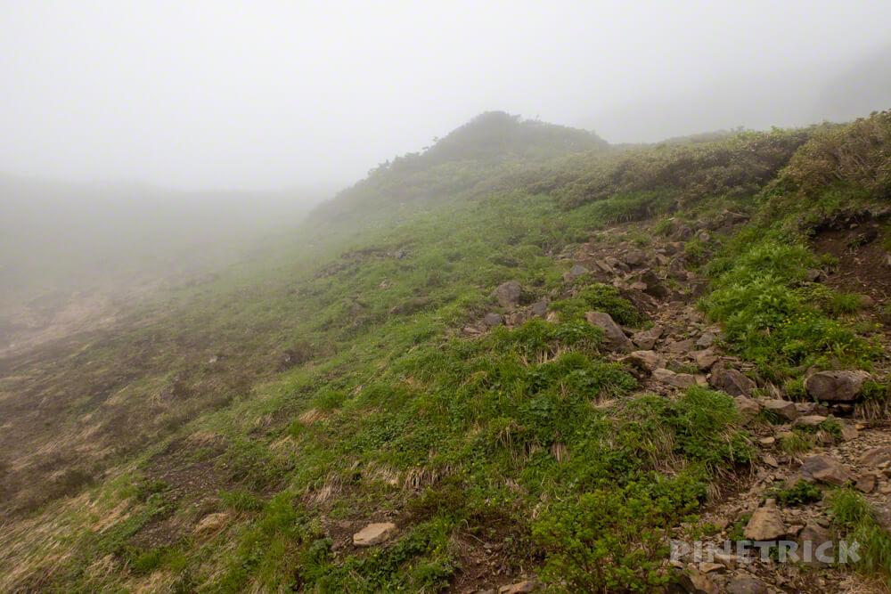 芦別岳 新道コース 登山 北海道