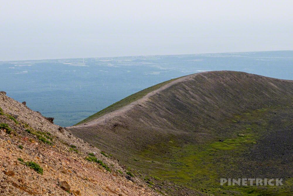 樽前山 サンセット登山 北海道 山頂