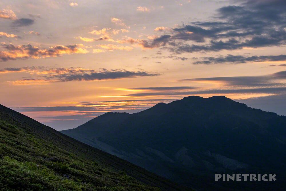 樽前山 サンセット登山 風不死岳 北海道