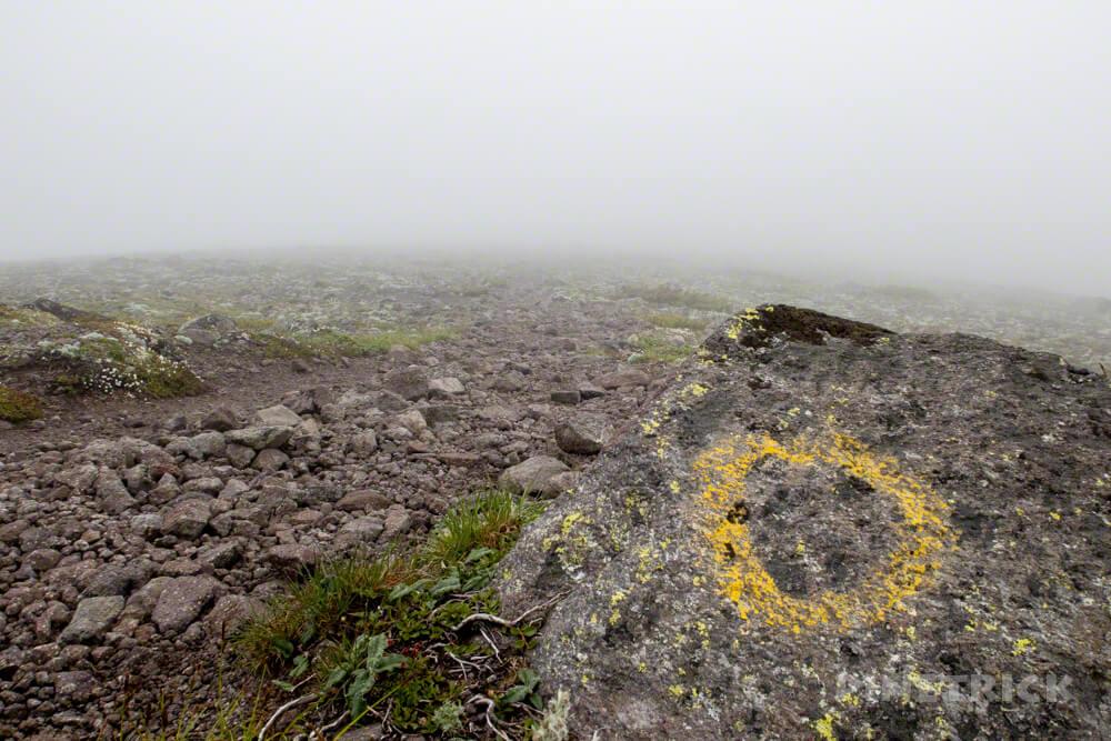 緑岳 大雪山 白雲岳避難小屋 分岐 ガス テント泊 縦走