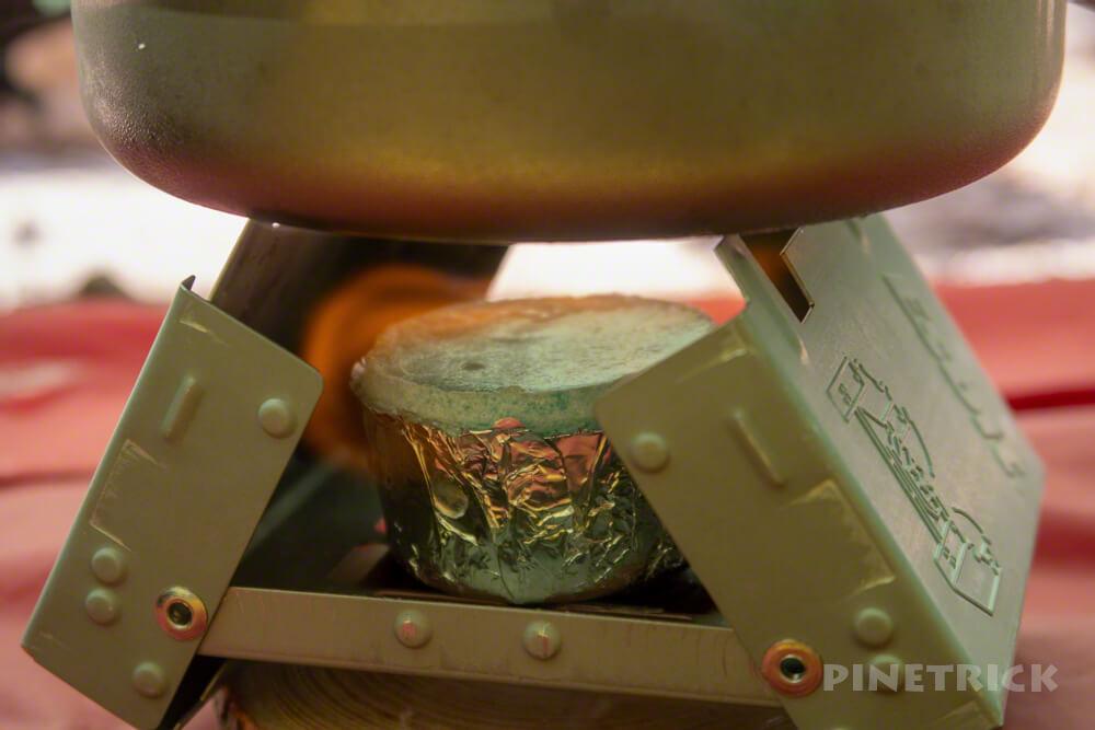 固形燃料 テント泊 エスビット esbit ストーブ 沸かす コーヒー