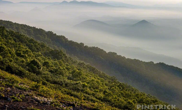 樽前山 サンセット登山 多峰古峰山 北海道 西山