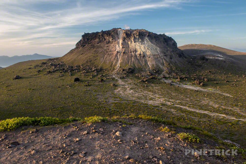 樽前山 サンセット登山 溶岩ドーム 北海道