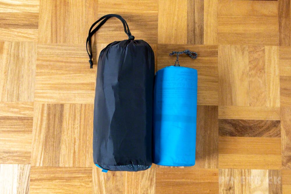 テント泊 寝袋 エアマット イスカ モンベル 比較 軽量 快眠