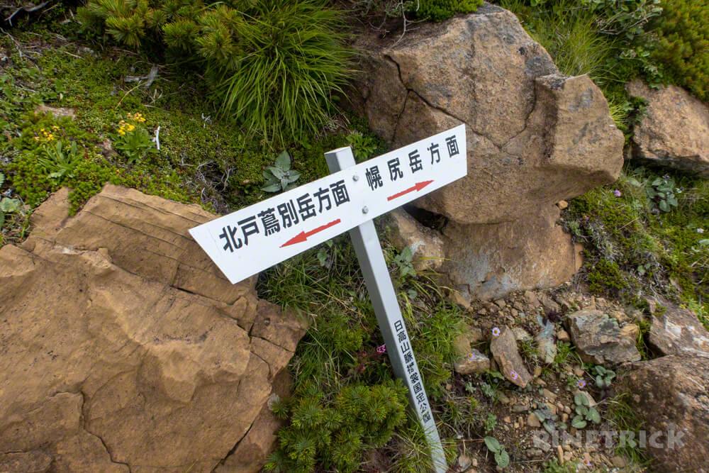 幌尻岳 チロロ林道 登山 テント泊 北海道 百名山 幌尻山荘分岐