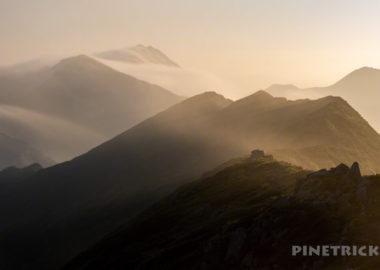 幌尻岳 テント泊 ピパイロ岳 チロロ林道 テラノバ 北海道 百名山 絶景 ご来光