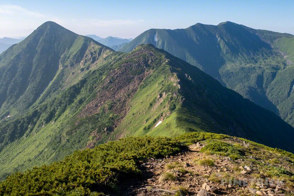 幌尻岳 テント泊 チロロ林道 テラノバ 北海道 百名山
