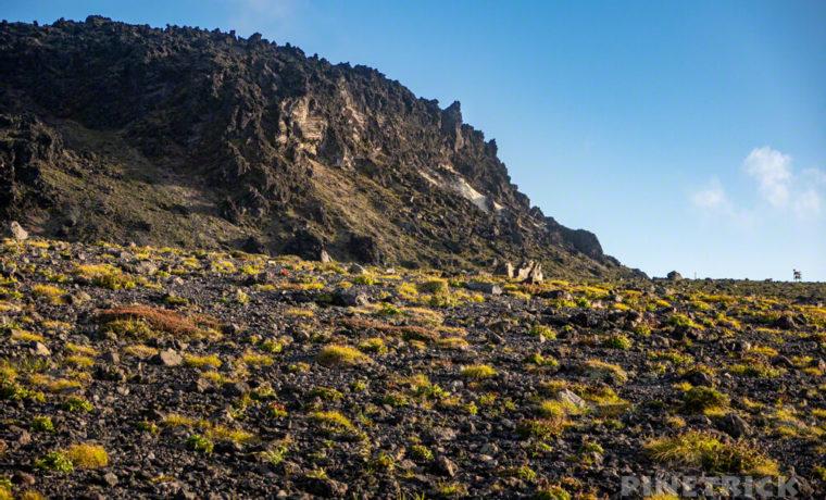 樽前山 サンセット登山 北海道 溶岩ドーム