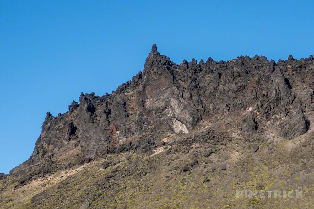 樽前山 溶岩ドーム 角 北海道 登山