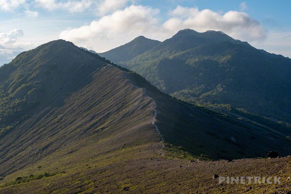 樽前山 登山 932峰 風不死岳 北海道