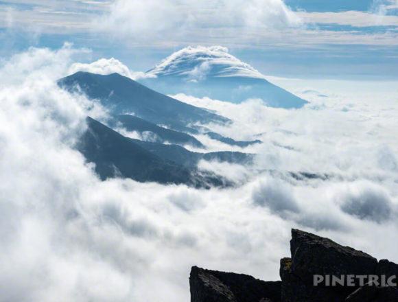 目国内岳 ニセコ連山 羊蹄山 登山 雲海 絶景 北海道 登山